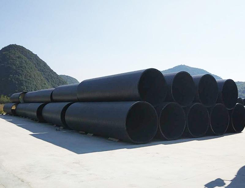 立筋式中空壁塑钢复合缠绕管