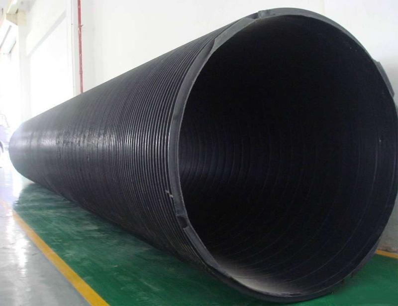聚乙烯(HDPE)塑钢缠绕管