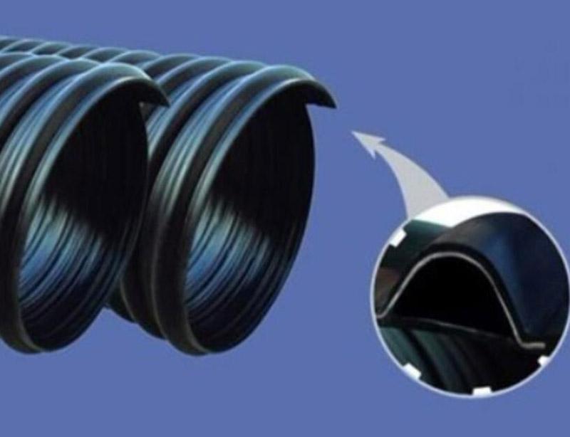聚乙烯钢带增强螺旋波纹管