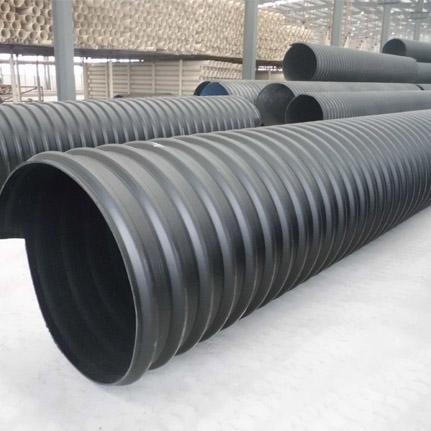 聚乙烯结构壁热态钢带增强波纹管(HDPE缠绕管)