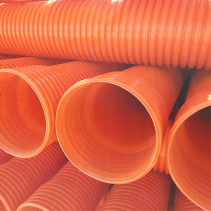 HDPE双壁波纹管管道修补的方法
