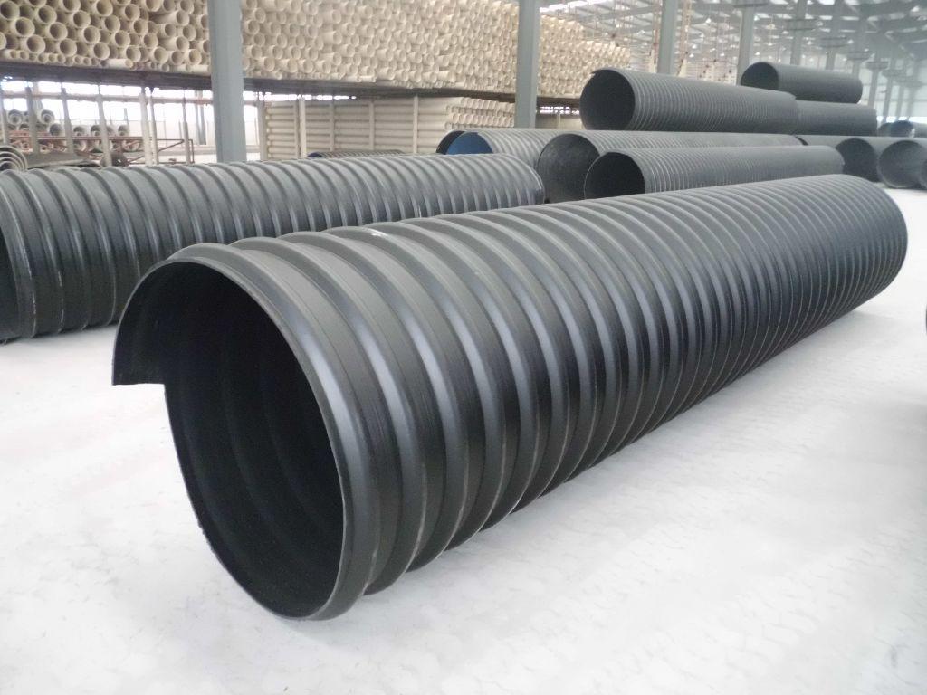 HDPE中空壁塑钢缠绕管